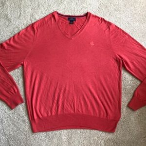 Brooks brothers v-neck lightweight sweater